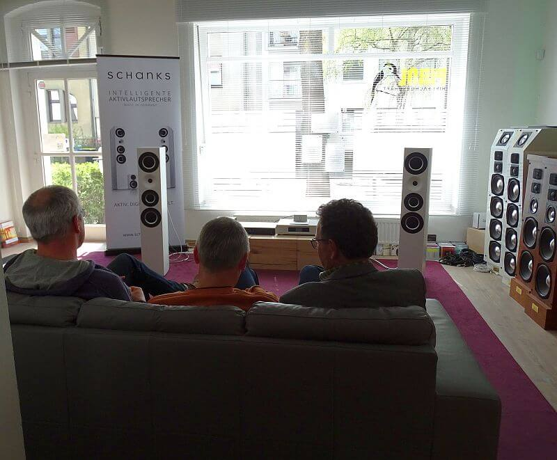 Schanks Audio Aktivlautsprecher persönlich kennenlernen